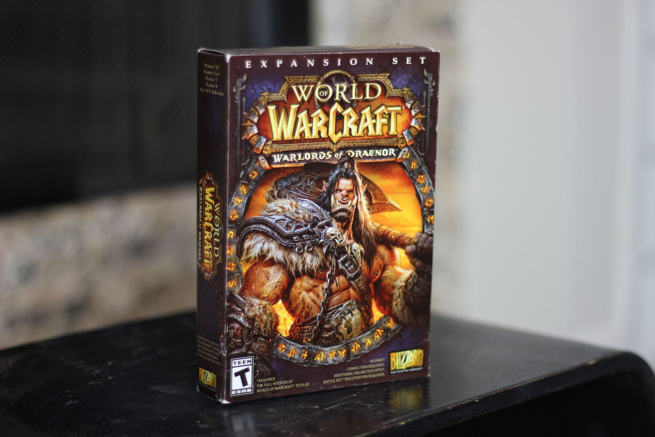 Image result for World of Warcraft expansion set : Warlords of Draenor.